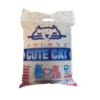 خاک بستر گربه کیوت کت مدل ANIMAL وزن 10 کیلوگرم
