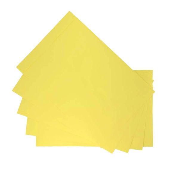 پاکت مدلZ30-5 سایز A5 مقوایی زرد بسته 20 عددی