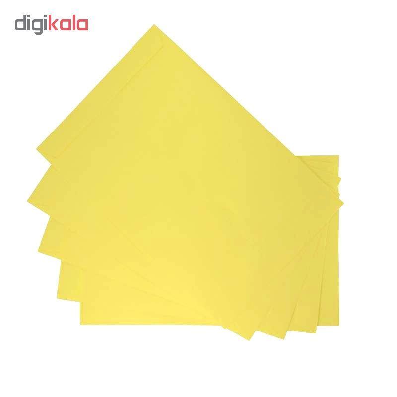 پاکت مدلZ30-5 سایز A5 مقوایی زرد بسته 20 عددی main 1 1