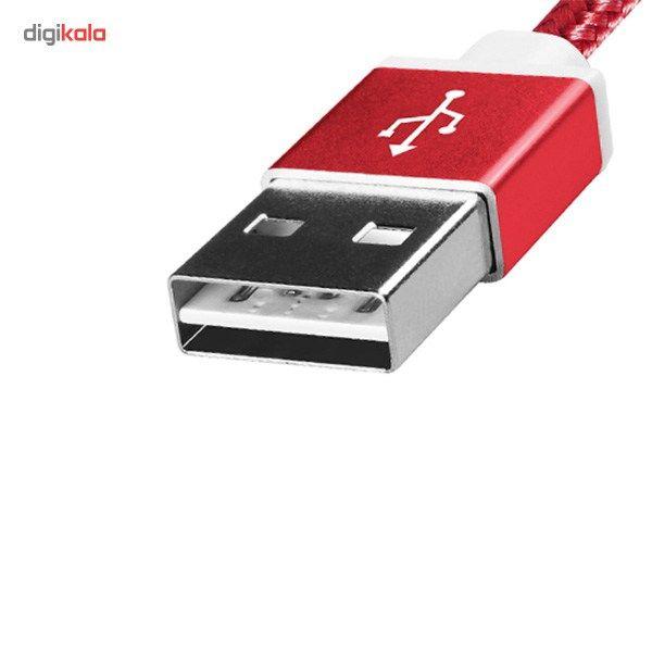کابل تبدیل USB به microUSB ای دیتا مدل Reversible Aluminum به طول 1 متر main 1 33
