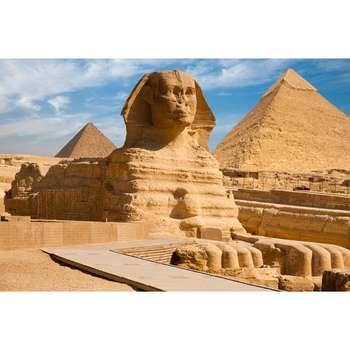 تابلو شاسی سری زیباترین مکان های دیدنی جهان طرح مجسمه ابوالهول کد 244