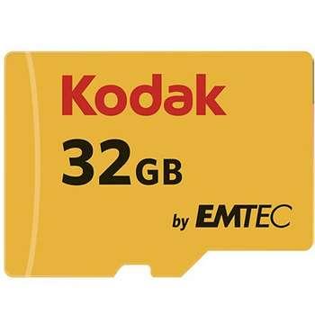 کارت حافظه microSDHC کداک استاندارد UHS-I U1 کلاس 10 سرعت 85MBps ظرفیت 32 گیگابایت