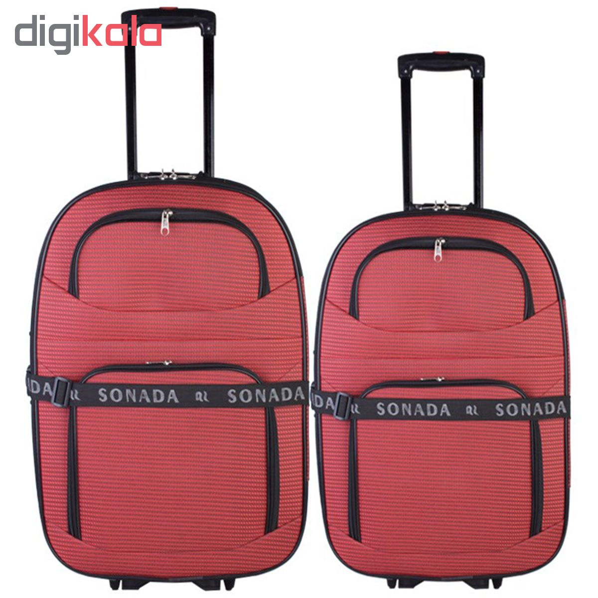 مجموعه دو عددی چمدان سونادا مدل sor2