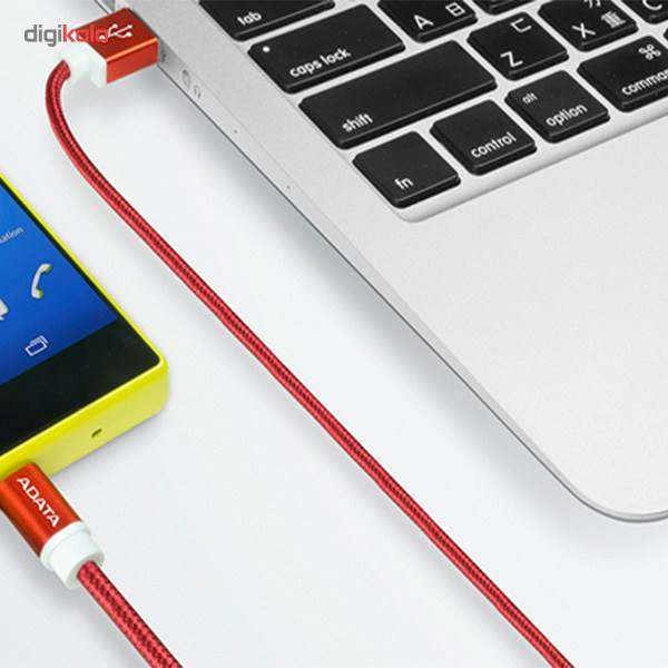 کابل تبدیل USB به microUSB ای دیتا مدل Reversible Aluminum به طول 1 متر main 1 36