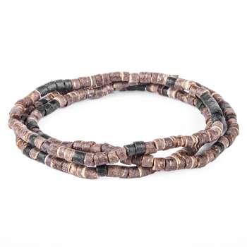 دستبند مردانه ریسه گالری مدل Ri3-A1005B بسته 3 عددی