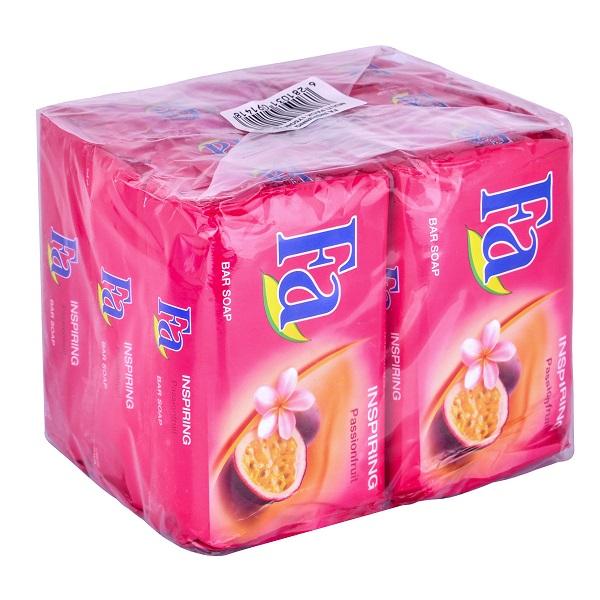 صابون فا مدل passionfruit مقدار 175 گرم بسته 6 عددی
