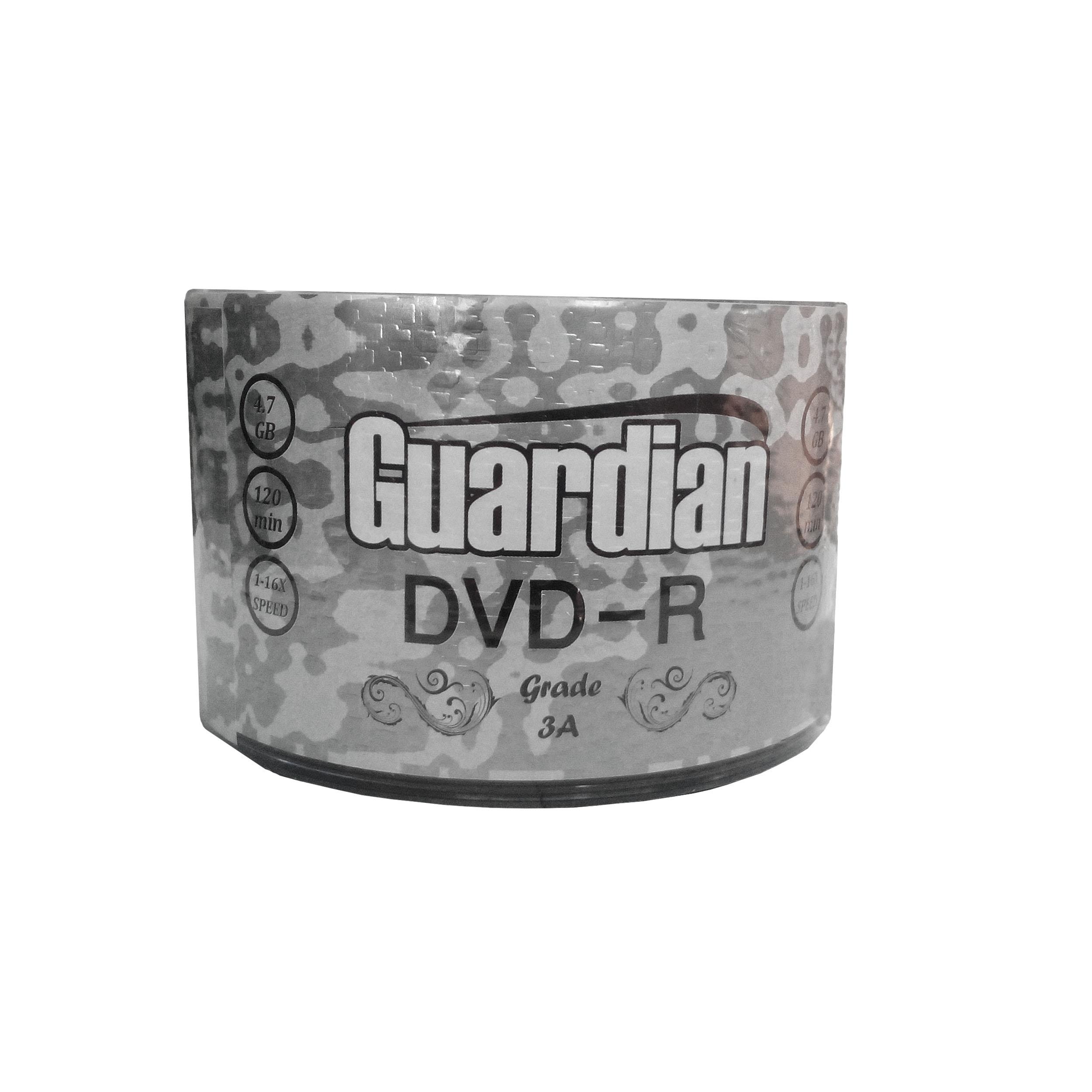 دی وی دی خام گاردین مدل gr011 بسته 50 عددی