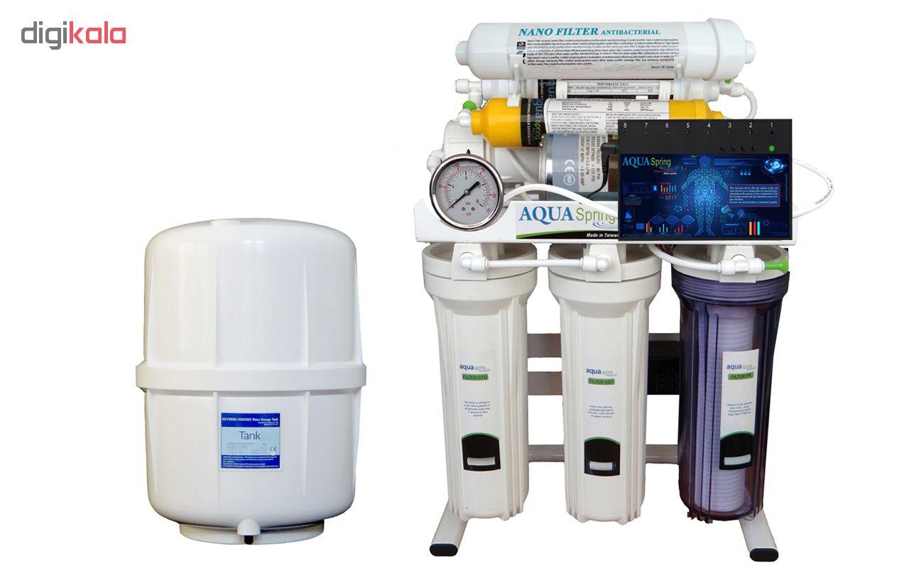 تصفیه کننده آب آکوآ اسپرینگ مدل RO-ARTIFICAL-INTIFICIAL- SN2050