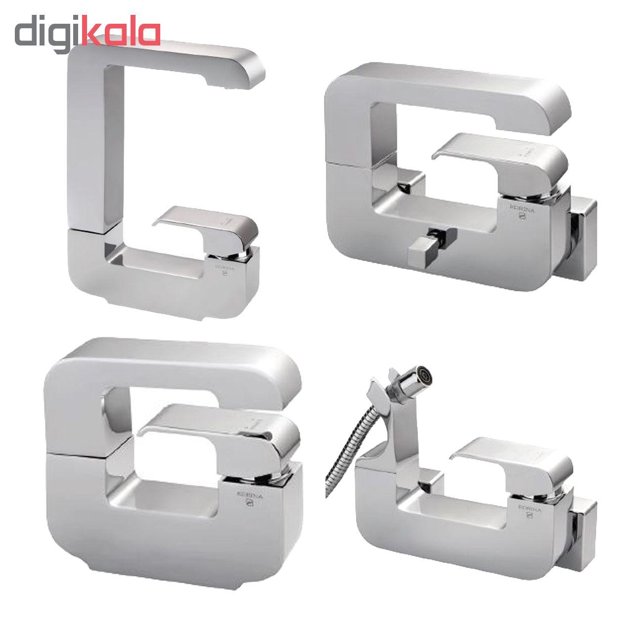 ست شیرآلات ادرینا مدل جی مجموعه ۴ عددی Edrina G Set Faucets