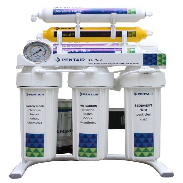 دستگاه تصفیه کننده آب پنتیر 7مرحله قلیایی مدل TLC-7517