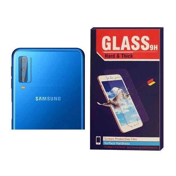 محافظ لنز دوربین Hard and thick مدل G-004 مناسب برای گوشی موبایل سامسونگ Galaxy A7 2018