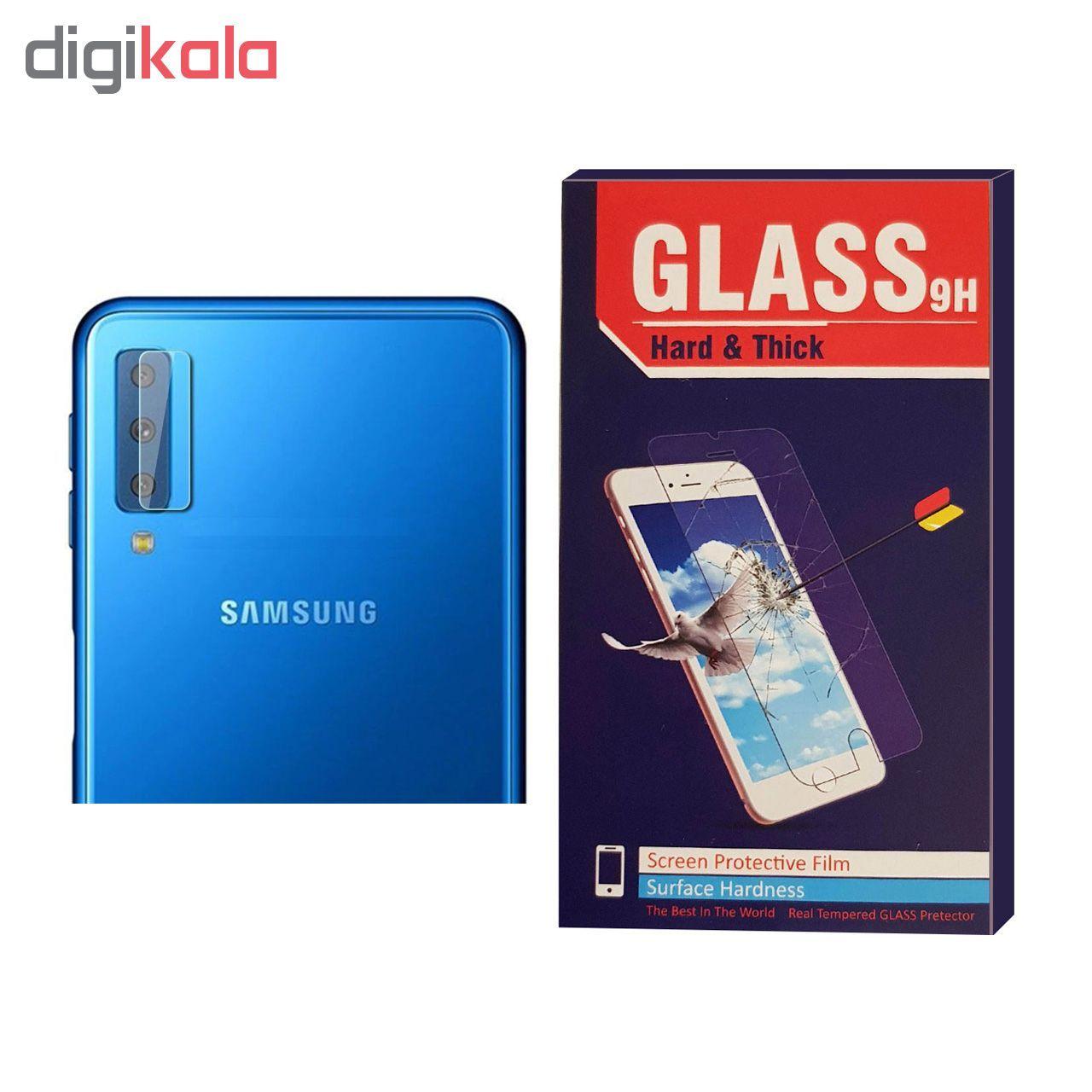 محافظ لنز دوربین Hard and thick مدل G-004 مناسب برای گوشی موبایل سامسونگ Galaxy A7 2018 main 1 1