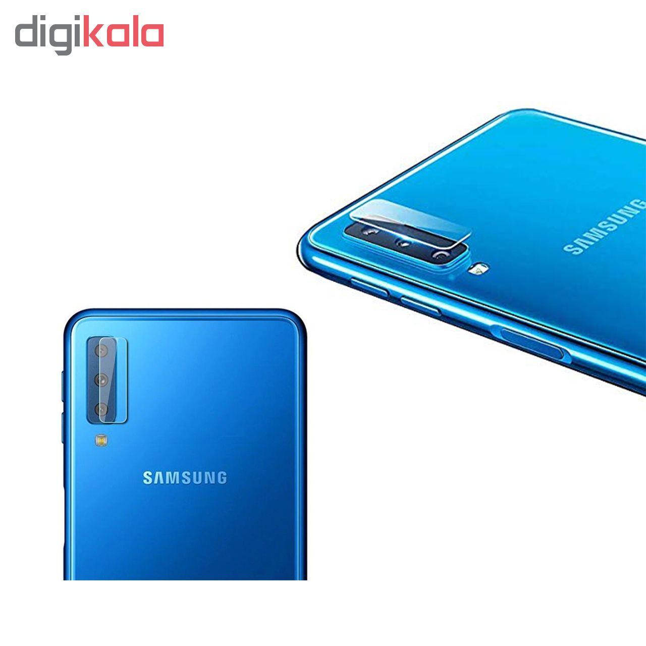 محافظ لنز دوربین Hard and thick مدل G-004 مناسب برای گوشی موبایل سامسونگ Galaxy A7 2018 main 1 2