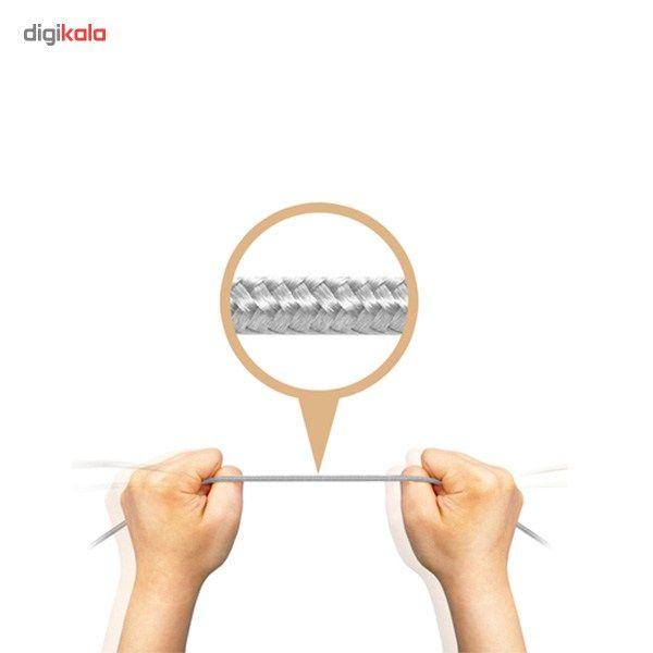 کابل تبدیل USB به microUSB ای دیتا مدل Reversible Aluminum به طول 1 متر main 1 41