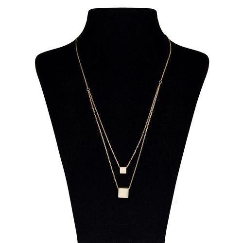 گردنبند طلا 18 عیار ماهک مدل MM0427