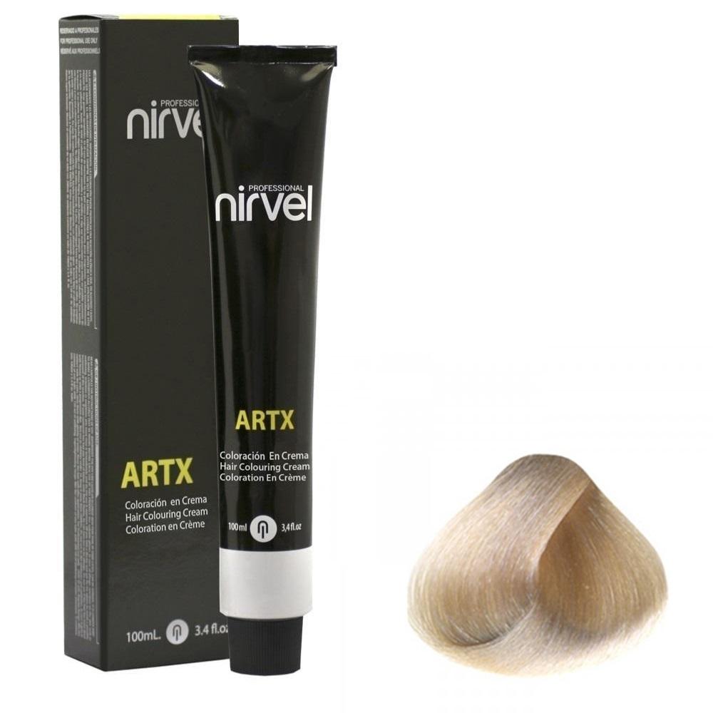 رنگ موی نیرول سری ARTX مدل Ashes شماره 1-12 حجم 100 میلی لیتر رنگ روشن كننده خیلی خاكستري
