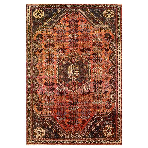 فرش دستبافت قدیمی پنج و نیم متری کد 137687
