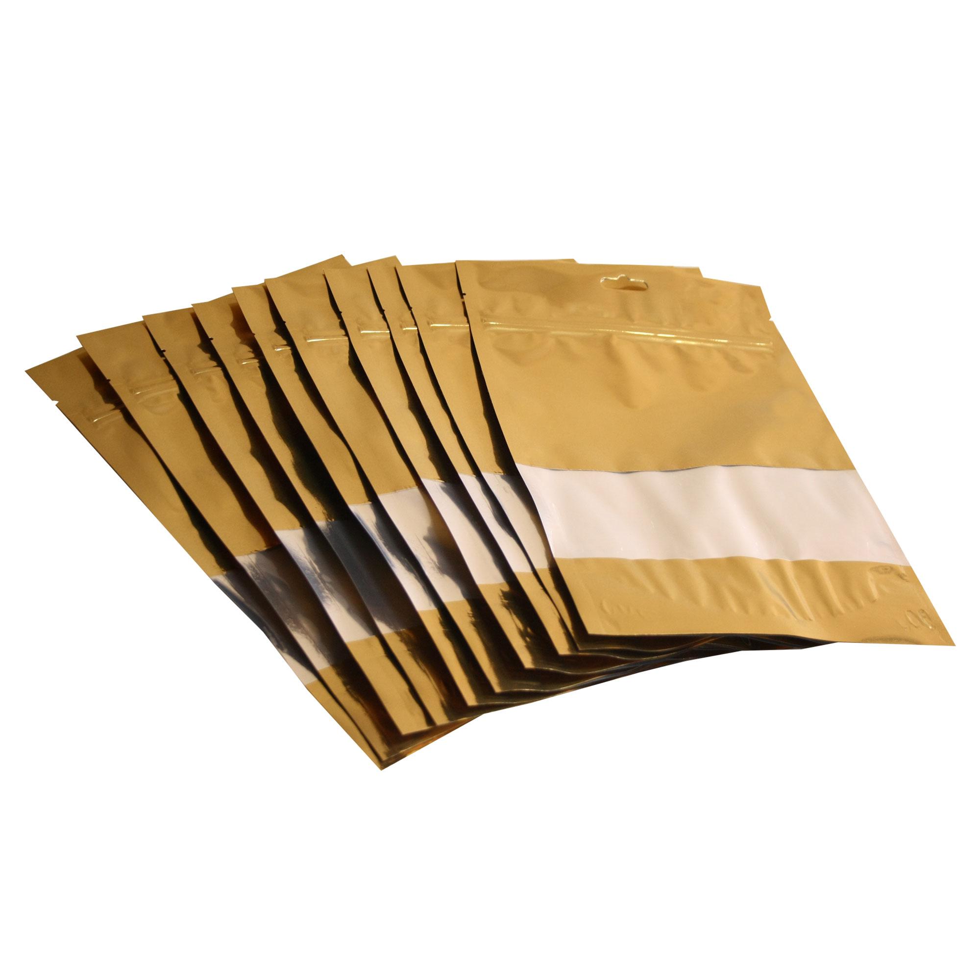 پاکت زیپ دار پکزی مدل  PSMMGOW200290122TR بسته 10 عددی