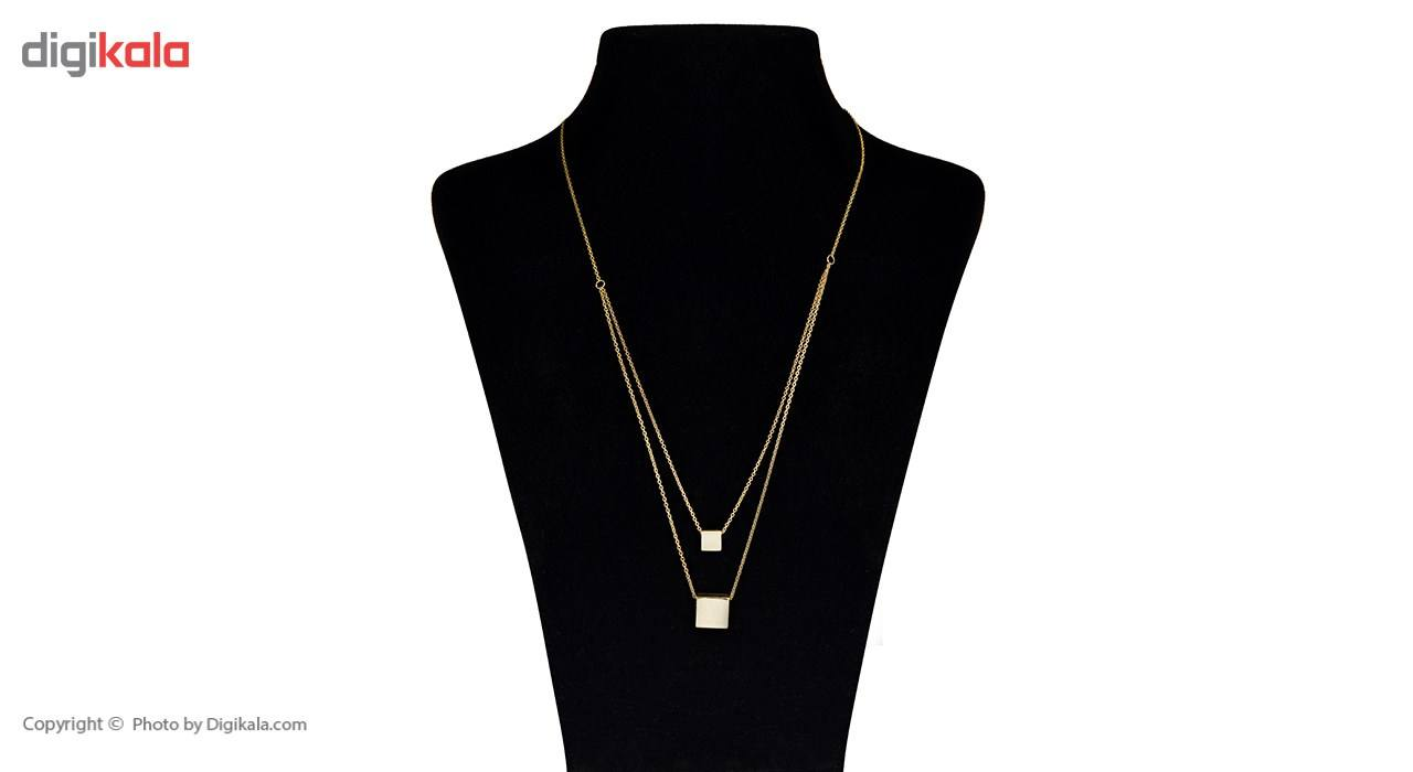 گردنبند طلا 18 عیار ماهک مدل MM0427 -  - 1