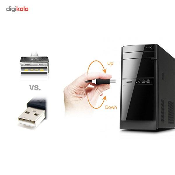 کابل تبدیل USB به microUSB ای دیتا مدل Reversible Aluminum به طول 1 متر main 1 43