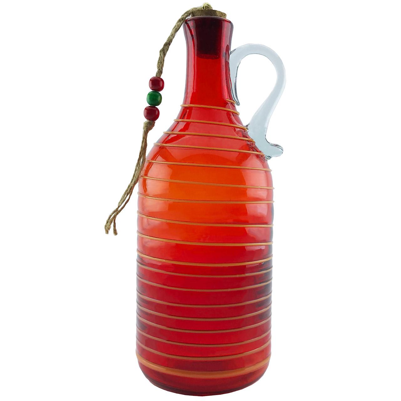 بطری شیشه ای طرح نواری کد 633