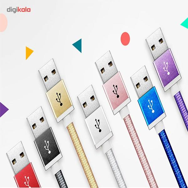 کابل تبدیل USB به microUSB ای دیتا مدل Reversible Aluminum به طول 1 متر main 1 45