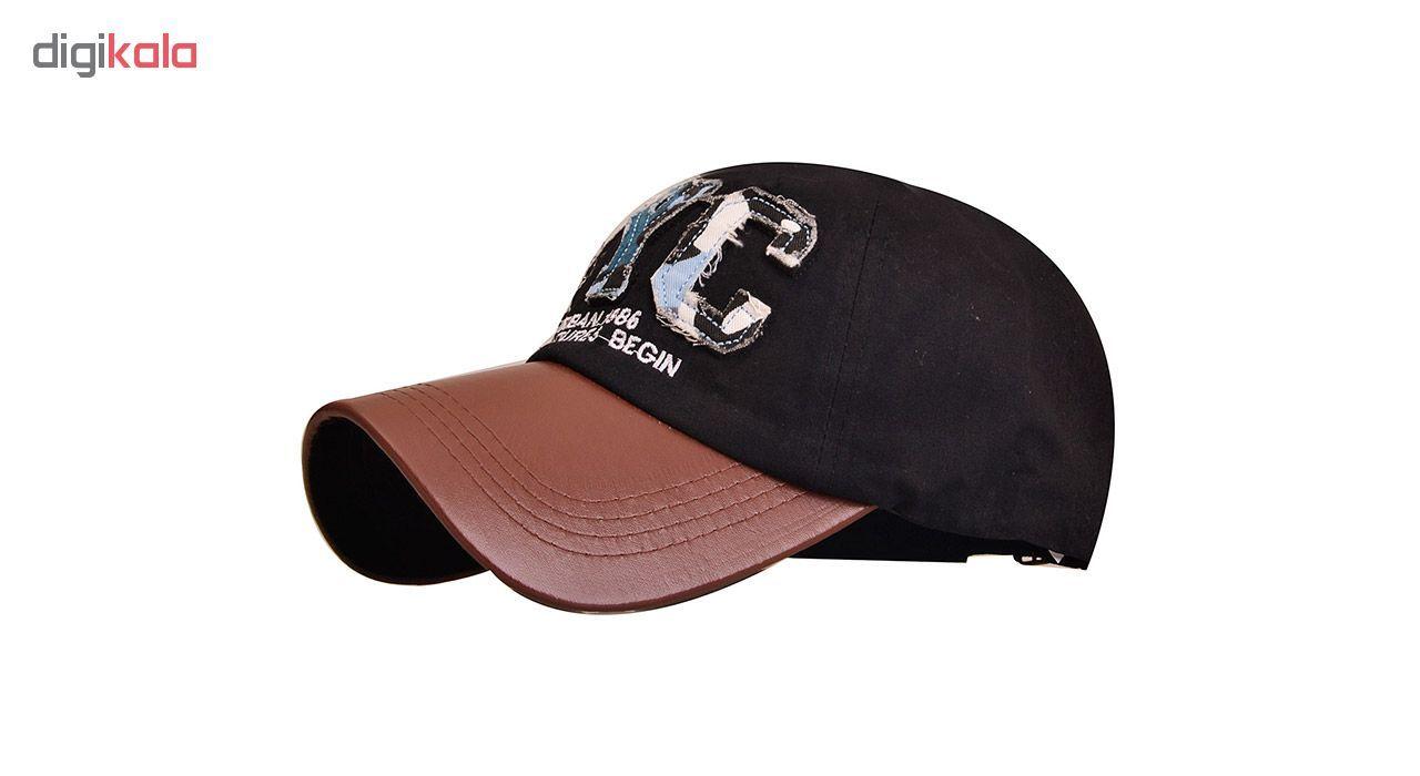 کلاه کپ مردانه ان وای سی مدل PZ82 سایز فری سایز main 1 1