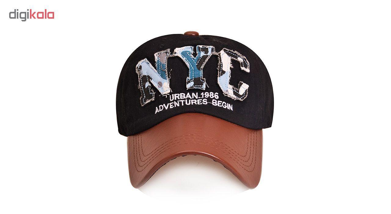 کلاه کپ مردانه ان وای سی مدل PZ82 سایز فری سایز main 1 4