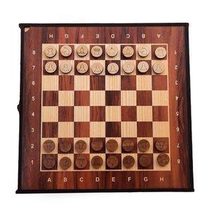 صفحه شطرنج منبت کاری مدل G1 مجموعه 6 عددی