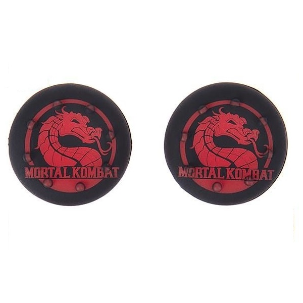 عکس روکش آنالوگ دسته پلی استیشن 4 مدل Mortal Kombat بسته 2 عددی