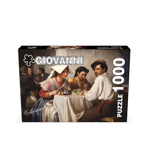 پازل 1000 تکه جیووانی مدل مهمانخانه رومی کد 02541