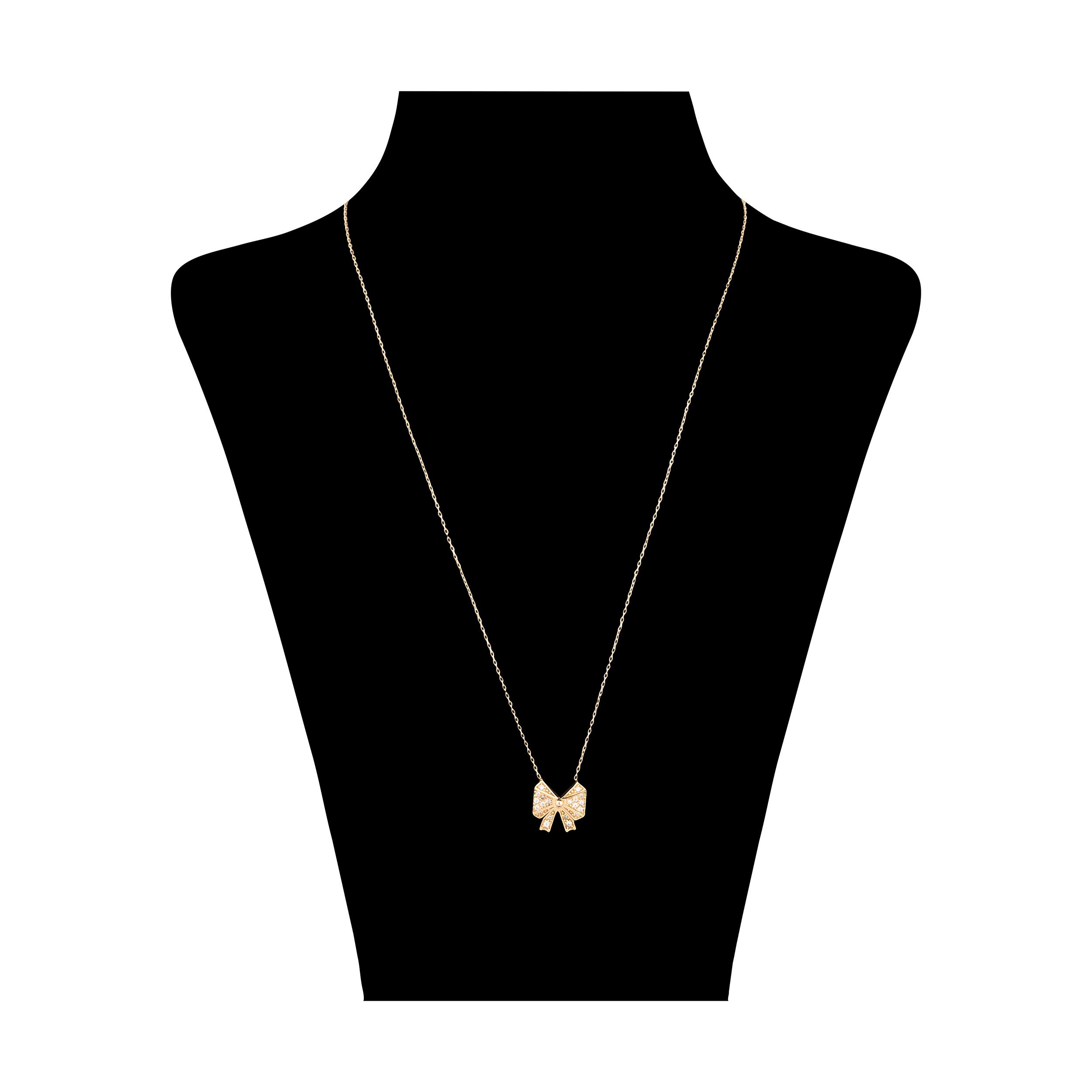 گردنبند طلا 18 عیار زنانه مدیسا مدل N7017