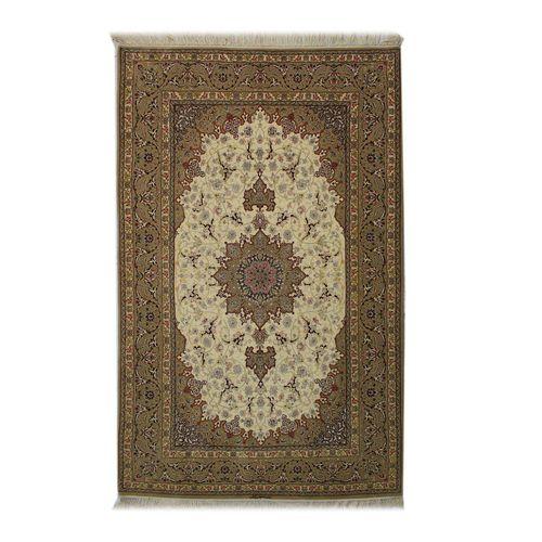 فرش دستبافت  چهار متری آبتین اصفهان   کد 1104522