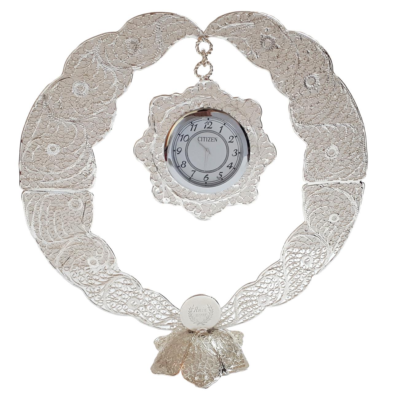ساعت رومیزی ملیله مدل Circle