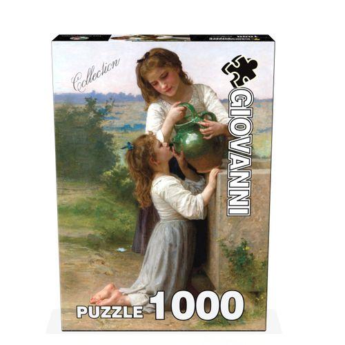 پازل 1000 تکه جیووانی مدل در کنار چشمه  کد 04785