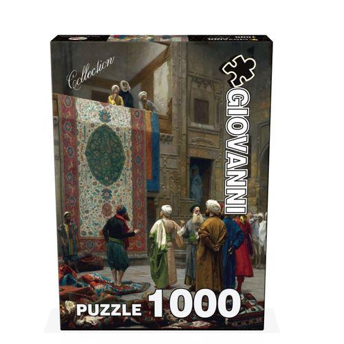 پازل 1000 تکه جیووانی مدل تاجر  فرش  در قاهره کد 04521