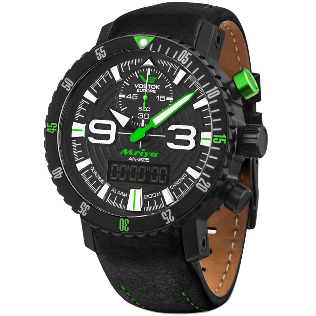 ساعت مچی عقربه ای مردانه وستوک یوروپ مدل9516-5554251 تولید محدود