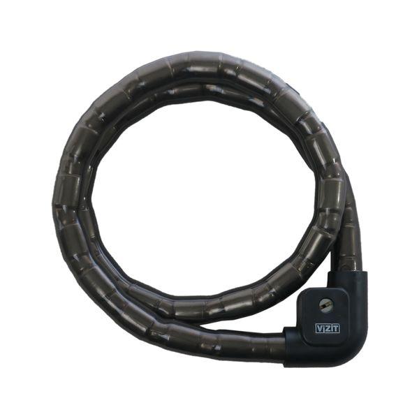 قفل موتورسیکلت کابلی ویزیت مدل TheScret