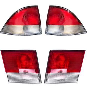 چراغ عقب جمع ساز مدل JT5123 مناسب برای سمند بسته 4 عددی