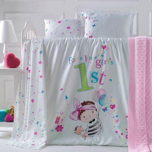 سرویس خواب نوزادی 10 تکه پلی فکتوری مدل Bambina