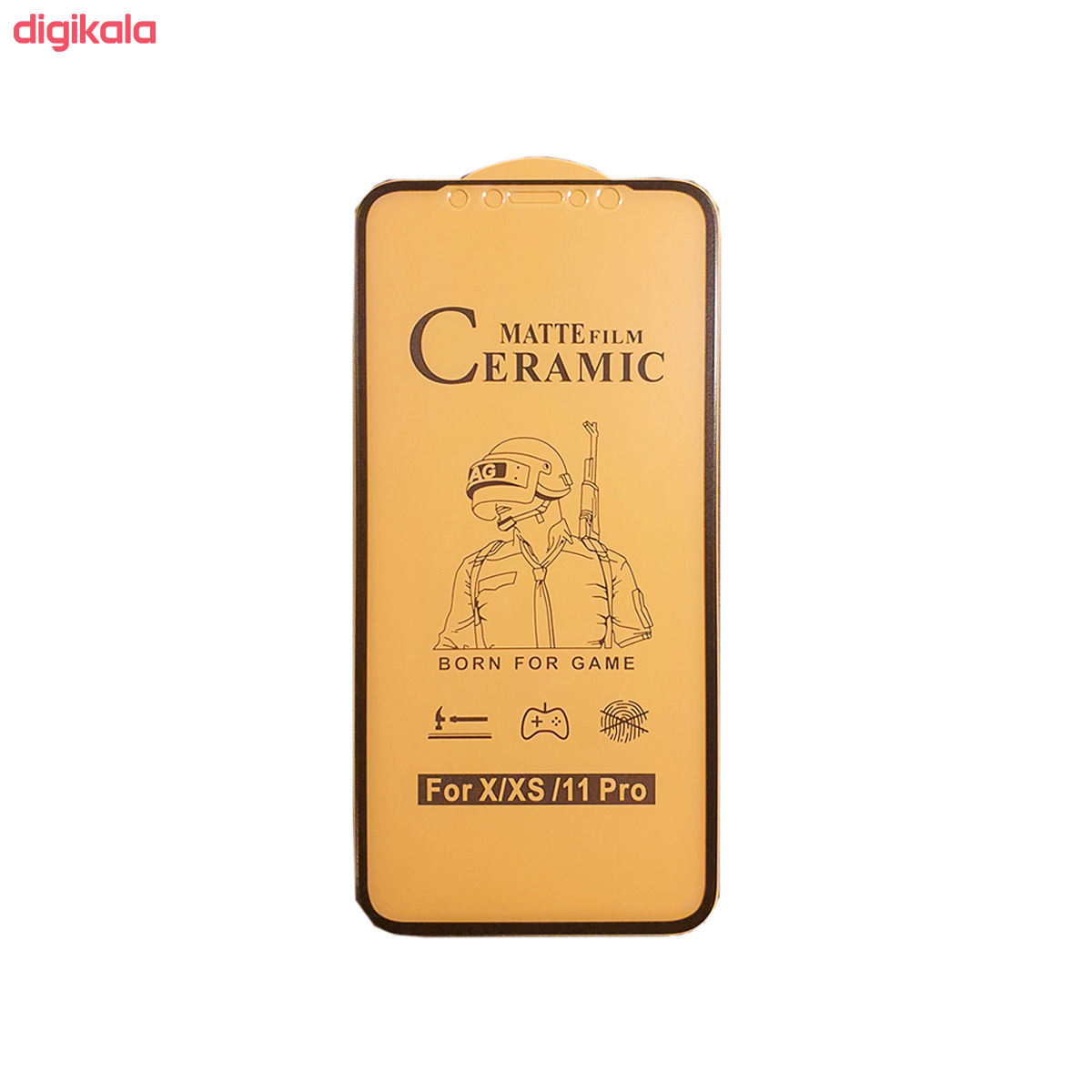 محافظ صفحه نمایش سرامیکی مدل FLCRM01me مناسب برای گوشی موبایل اپل iPhone 11 Pro main 1 2
