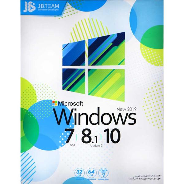 سیستم عامل Windows Collection 7 / 8.1 /10 New 2019 نشر جی بی تیم
