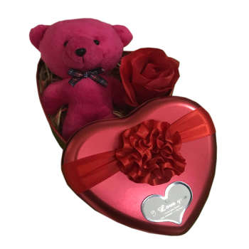 ست هدیه عروسک طرح خرس کد irsa-654