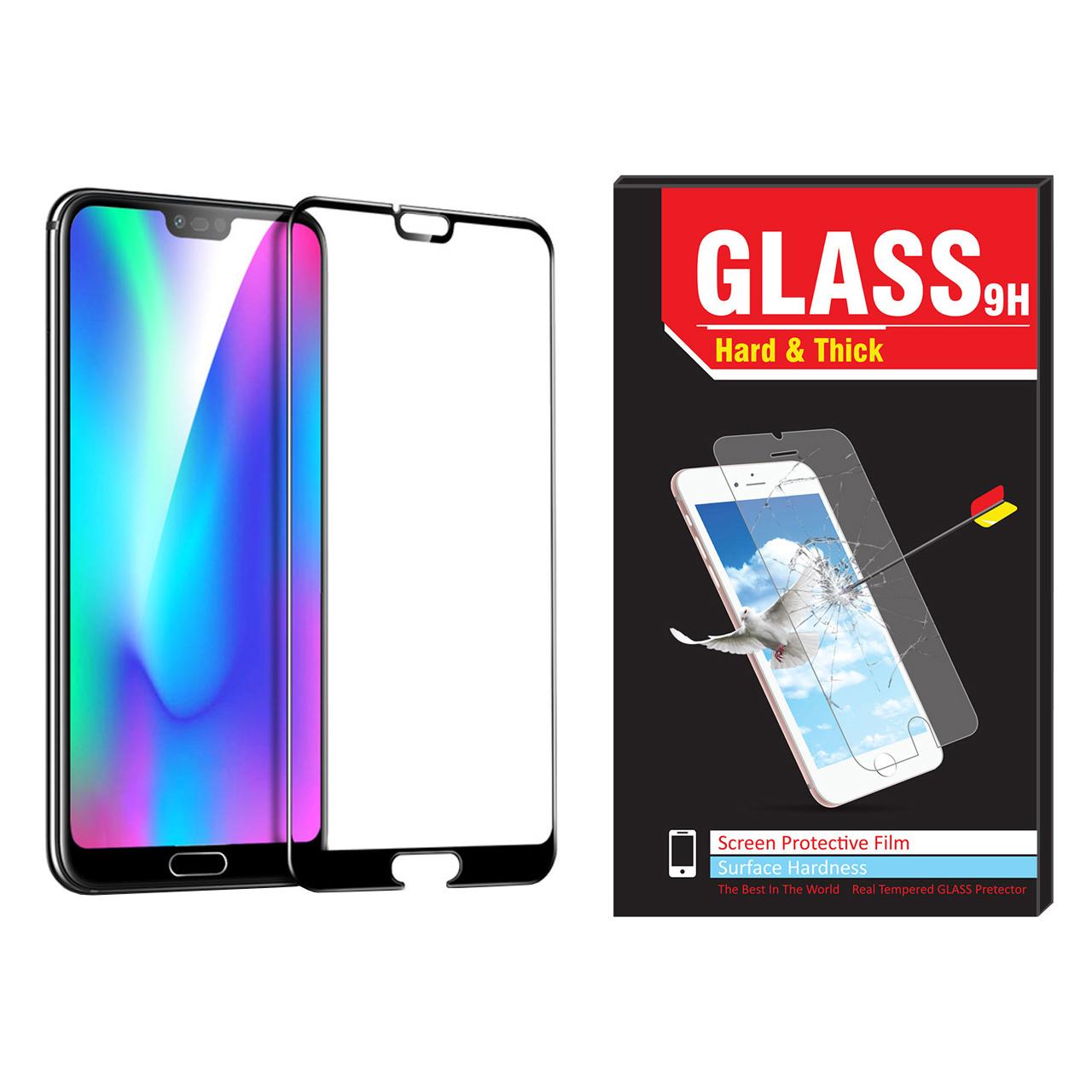 محافظ صفحه نمایش Hard and thick مدل فول چسب مناسب برای گوشی موبایل هوآوی Honor 10
