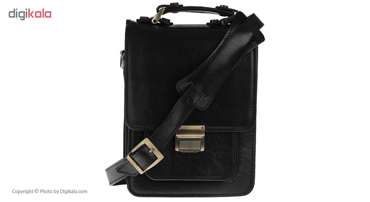 کیف دوشی چرم مدل BNL16