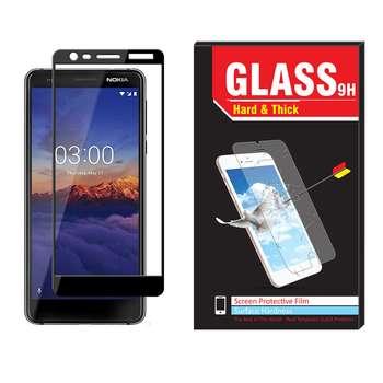 محافظ صفحه نمایش Hard and thick مدل فول چسب مناسب برای گوشی موبایل نوکیا Nokia 3.1