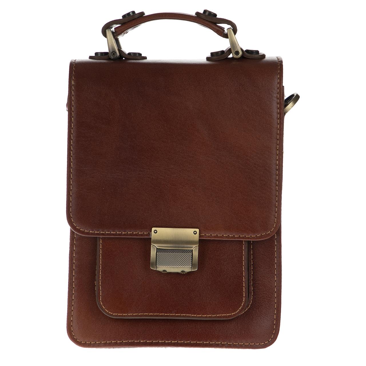کیف دوشی چرم مدل BNL18