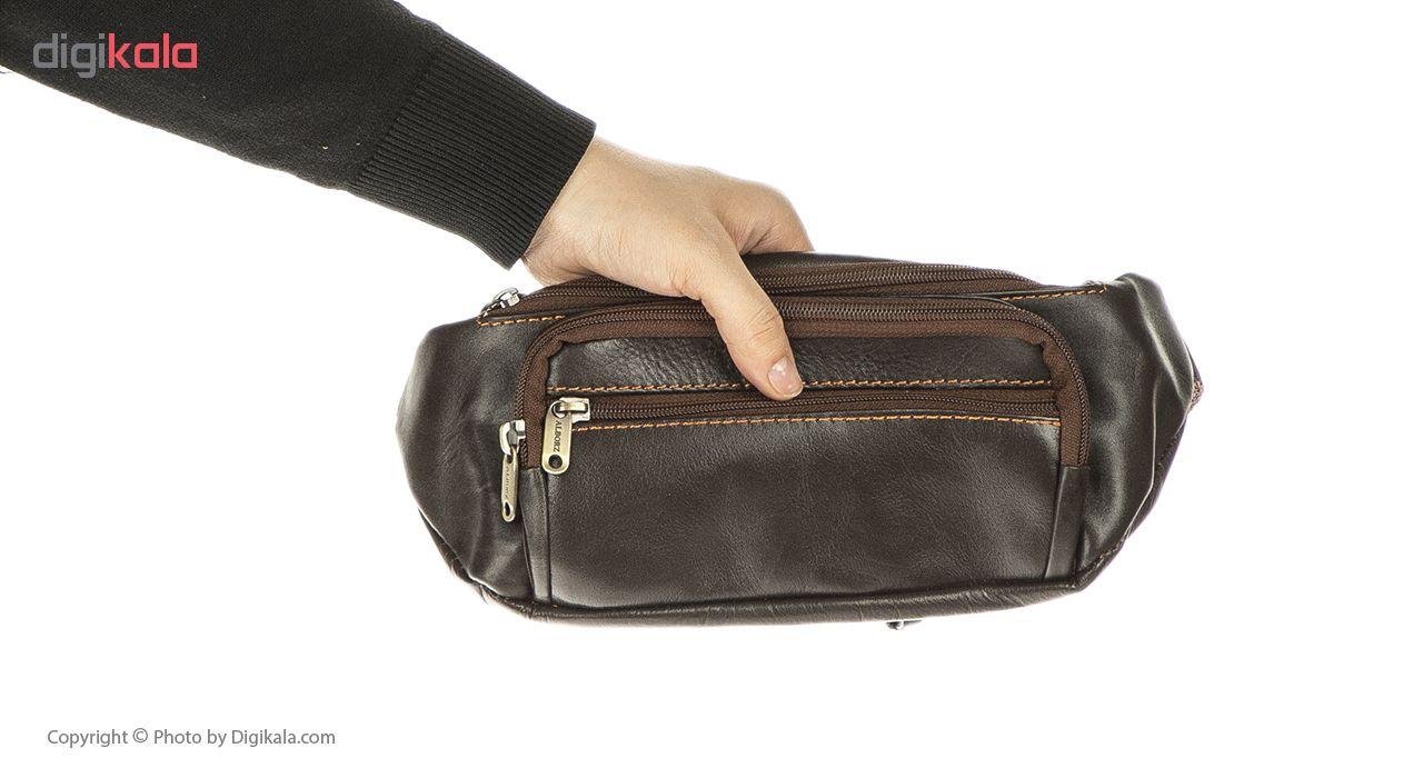 کیف کمری چرم مدل BNL19