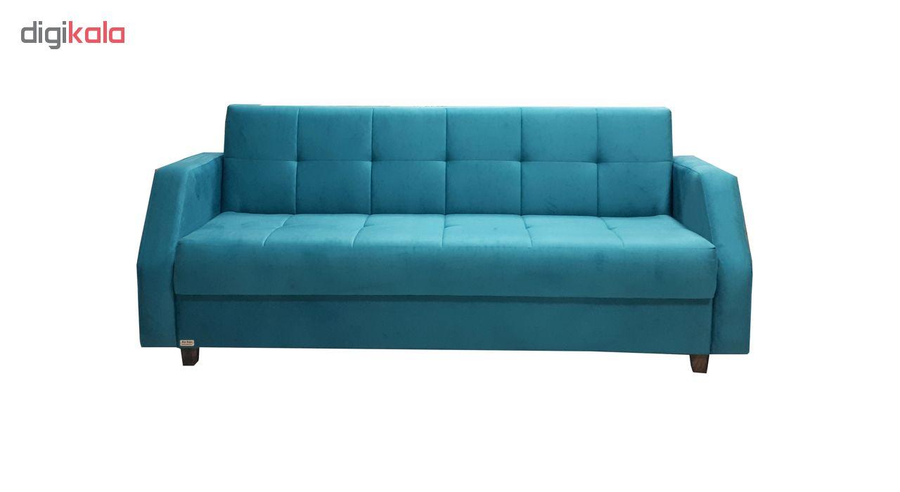 کاناپه مبل تخت خواب شو ( تخت خوابشو - تخت شو ) آرا سوفا مدل B14DI