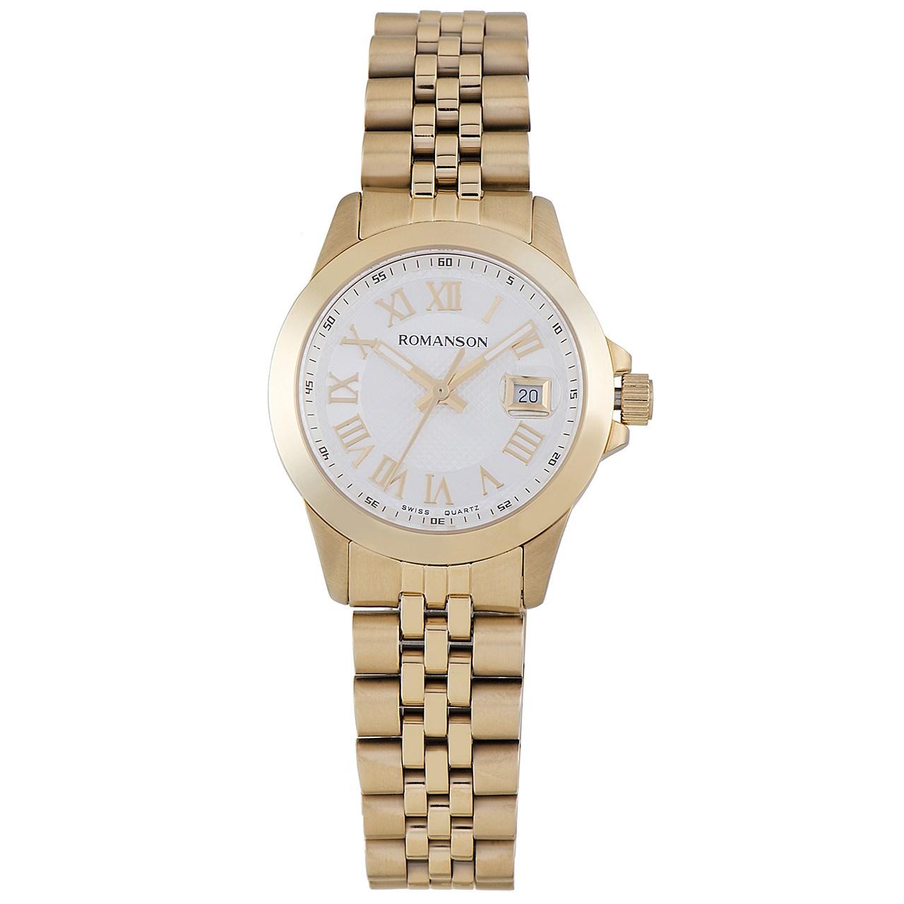 ساعت زنانه برند رومانسون مدل TM0361LL1GAS1G